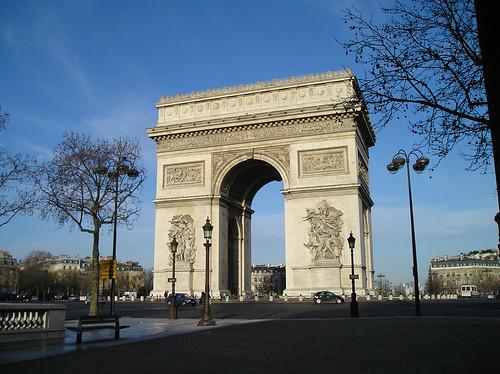 Arch De Triomphe  March 10, 2007