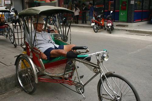 Tuktuk drivers have a hard life...