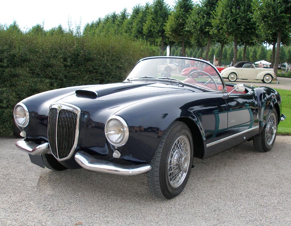 Rank lancia car pictures august 2010 1950 lancia aurelia b10 wallpapers vanachro Choice Image
