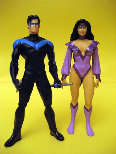 Nightwing and Nightstar