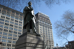 NYC - Union Square: Abraham Lincoln Statue by wallyg, on Flickr