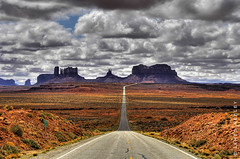 Mile Marker 13 (James Neeley) Tags: landscape utah bravo searchthebest monumentvalley hdr photomatix 5xp flickrsbest superaplus aplusphoto holidaysvacanzeurlaub goldenphotographer flickrdiamond jamesneeley thebestnothingelse