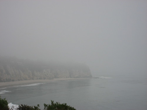 foggy morning at point dume