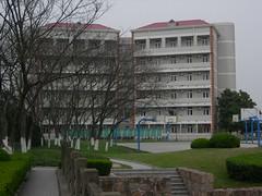 life city campus landscape shanghai suburb sjtu
