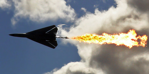 F-111 Dump and Burn - Avalon Airshow