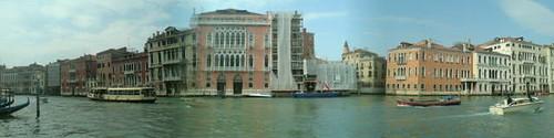 Venise: vue du canal