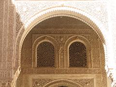 Alhambra (mapelion) Tags: windows architecture spain arch plaster andalucia alhambra granada