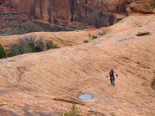 Mike Tierney, Slickrock Trail, Moab, Utah