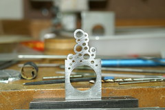 PICT2579 (jon m ryan) Tags: art silver aluminum workinprogress craft jewelry ring sterling process anodized jonryan