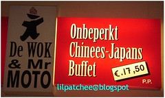 Chinese-Japanese buffet in Arnhem