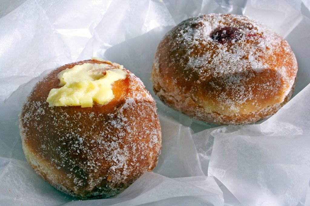 Bombolonis (Italian donuts)