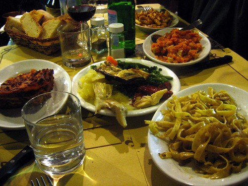 Tavola Calda food on Via degli Alfani