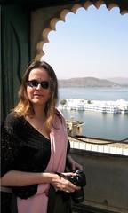 at the Udaipur palace (photos4dreams) Tags: india colors rajasthan udaipur iloveindia photos4dreams photos4dreamz
