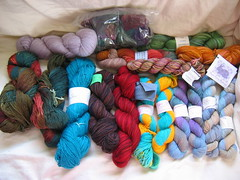 fancy sock yarn