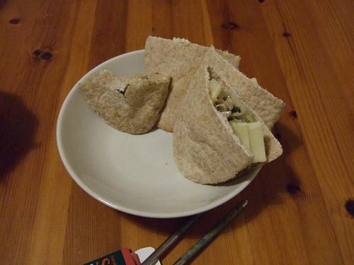 好吃又簡單的袋餅晚餐