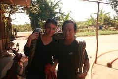Meg, mushroom farmer and pet python