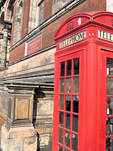 Phonebox and the V&A by Ifi.