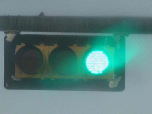 The Green Light Haze