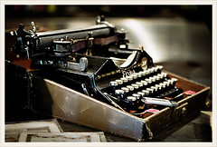 old & new (sigrun th) Tags: new old stilllife typewriter iceland cool nice focus dof bokeh antique usb lovely oldnew nicebokeh