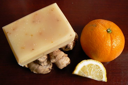 Ginger Breeze soap