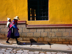 Potos,Bolivia (drear2ta) Tags: people woman yellow mujer bravo bolivia potos coya travelerphotos
