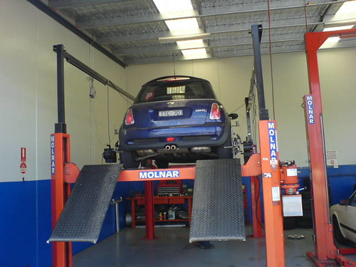 Wheel rotation & alignment