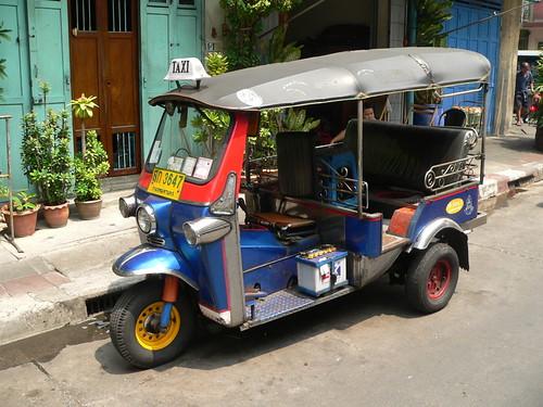 El tðico taxi tailandes