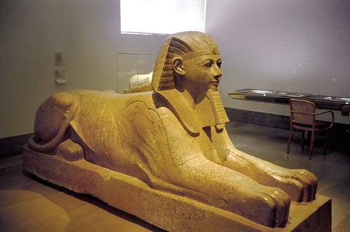 2000 20 Sfinx van Hatsjepsut, Metropolitan Museum por Hans Ollermann.