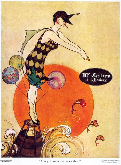 Marjory C. Woodbury, McCallum Hosiery, 1917