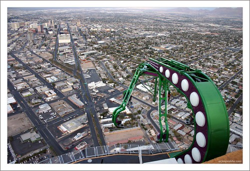 One more Thriller Ride on Top of Stratosphere - Las Vegas