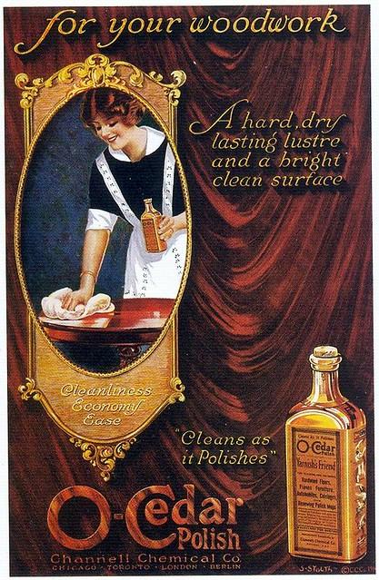 S. Soltz, O-Cedar Mop Polish, 1916