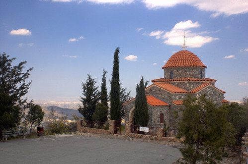 Church of all Cyprus Saints at Stavrovouni Monastery