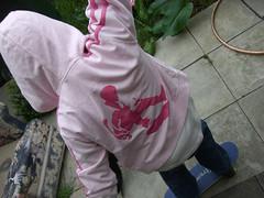 melvind hoody!! (little-lil) Tags: pink girl clothing hoody skater stenciled melvind