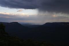 rain rolls in over the valley (bigyahu) Tags: autumn bluemountains katoomba leura