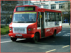 287 N287PDV Plymouth Citybus