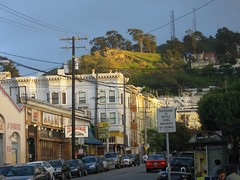 cole valley / tank hill from below