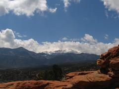 pikes peak (zyrcster) Tags: clouds landscape rocks gardenofthegods pikespeak challengeyouwinner photofaceoffwinner pfosilver