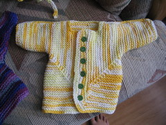 Cotton Worsted Surprise Jacket