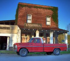 (K e v i n) Tags: building photoshop truck illinois tripod il blended pomona generalstore hdr highdynamicrange gaspump southernillinois redtruck photomatix tonemapping kodakz760 5xp 5exposures pomonail pomonaillinois