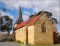 St John's Catholic Church . Richmond . Tasmania (Uhlenhorst . Sorry, I need a long break!) Tags: 2005 travel buildings reisen australia tasmania australien gebude tasmanien abigfave architectureandcities