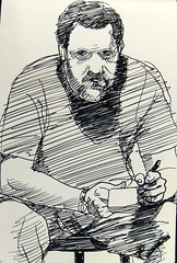 ink self portrait