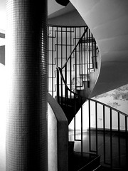 Sivill House (bensmawfield) Tags: blackandwhite abstract building home architecture spiral geometry flats staircase shoreditch lubetkin sivillhouse