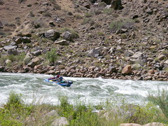 Grand Canyon - Colorado River at Tapeats Rapids raft 1 (Al_HikesAZ) Tags: park camping arizona water river landscape nationalpark colorado hiking grandcanyon grand canyon hike rapids rafting national backpacking backpack backcountry raft hikes inthecanyon  grandcanyonnationalpark coloradoplateau gcnp awesomenature thunderriver desertrivers tapeats alhikesaz   belowtherim