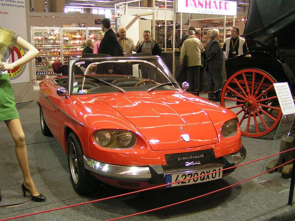 Panhard 24 CT cabriolet