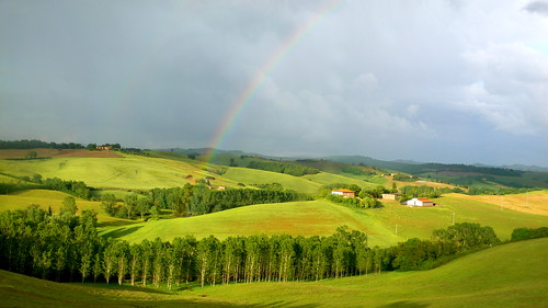 A Rainbow in Tuscany