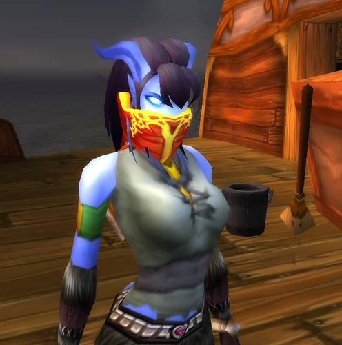 world of warcraft blood elf hunter. Blood Elf Mask Drop