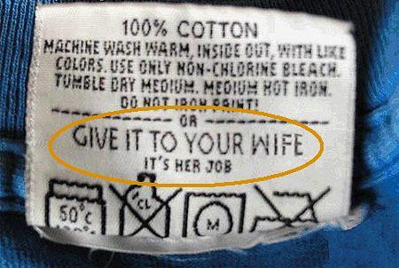 Istruzioni per il lavaggio