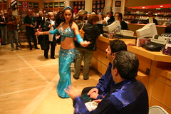 Sonia w/ Issam Houshan (susiep94115) Tags: dance turquoise twirl bellydance bellydancesuperstars jillina issamhoushan sahlaladancers