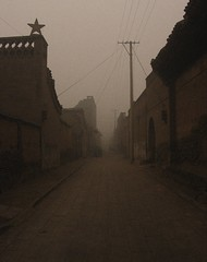 Pingyao Star (NowJustNic) Tags: china street fog star nikon edited unescoworldheritagesite alleyway  noise shanxi pingyao   d80 nikkor18135mm