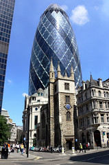 101_0463_s (MarkusGW) Tags: uk london tower church gherkin swissre insurance lloyds kiche